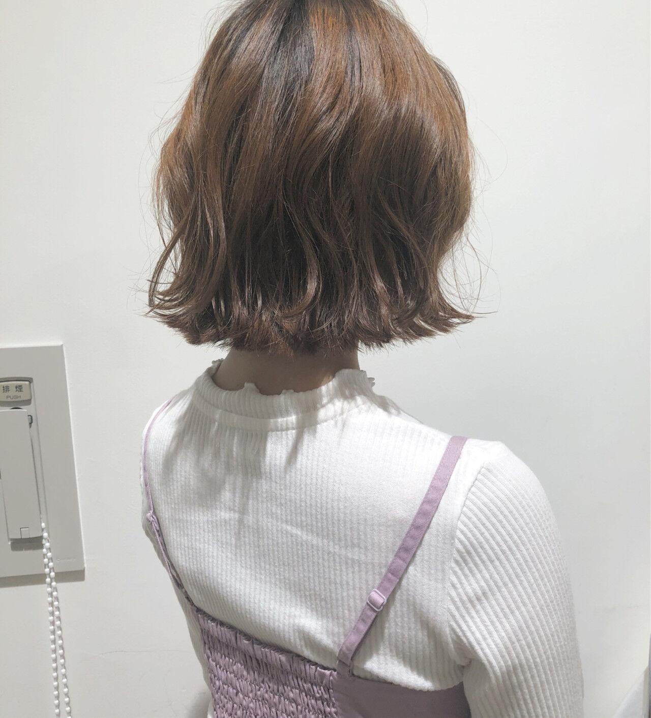 ヘアアレンジ フェミニン ウェーブ ゆるふわヘアスタイルや髪型の写真・画像