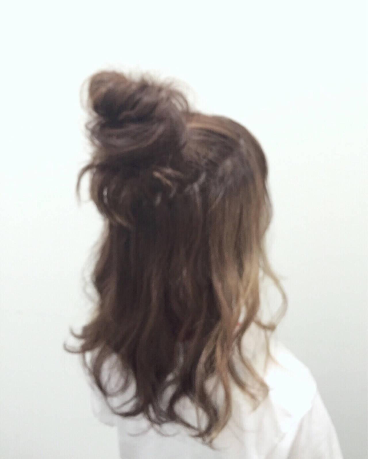 ガーリー ショート ミディアム ヘアアレンジヘアスタイルや髪型の写真・画像