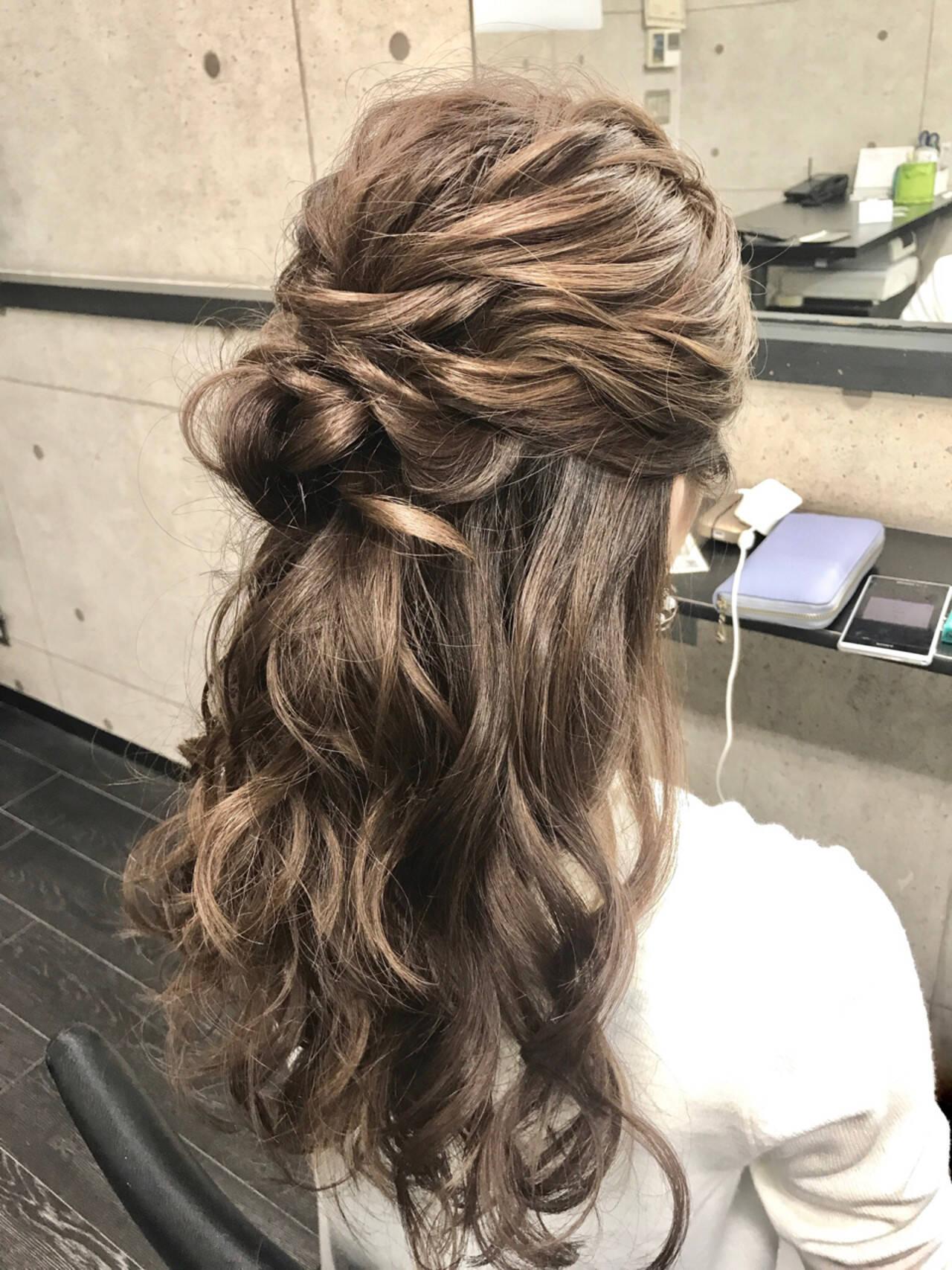 デート ナチュラル ロング ショートヘアスタイルや髪型の写真・画像