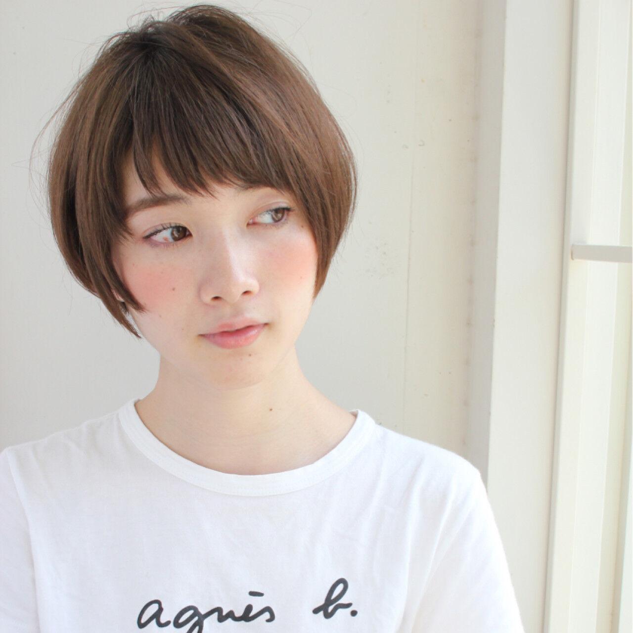 前髪あり スポーツ ナチュラル 大人女子ヘアスタイルや髪型の写真・画像