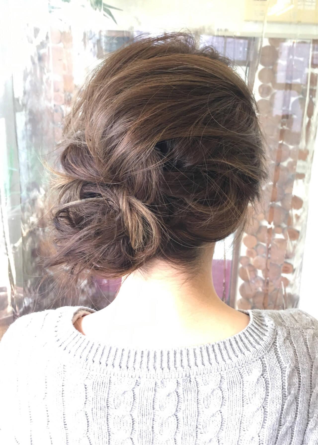 ハイライト メッシーバン ブルージュ 外国人風ヘアスタイルや髪型の写真・画像