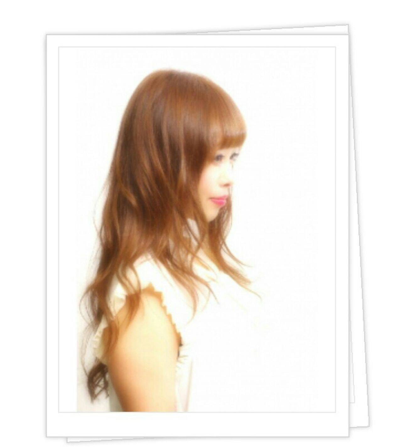 大人かわいい モテ髪 ゆるふわ ロングヘアスタイルや髪型の写真・画像