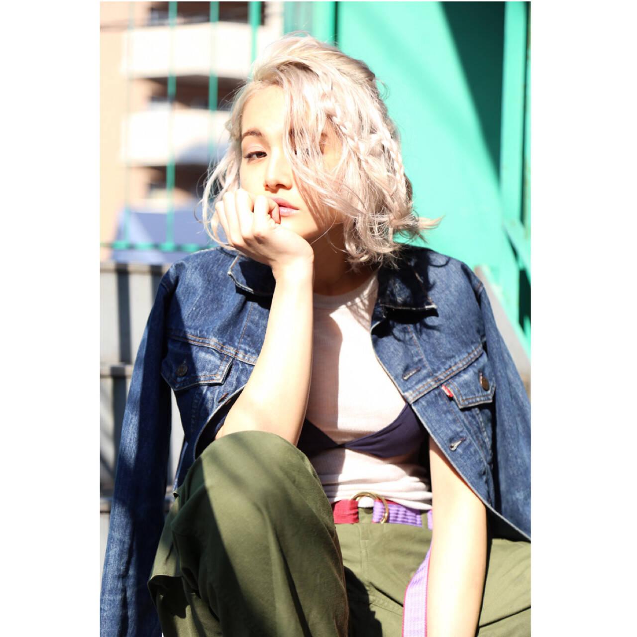 大人女子 ニュアンス ストリート 色気ヘアスタイルや髪型の写真・画像