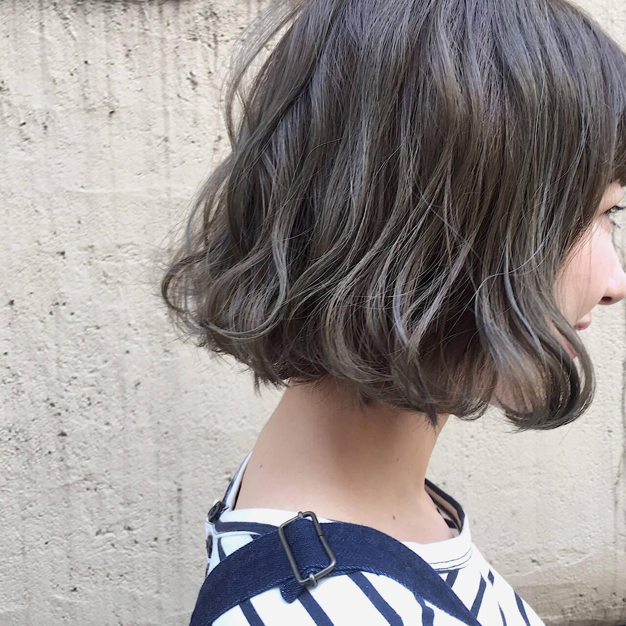 結婚式 女子会 ナチュラル ニュアンスヘアスタイルや髪型の写真・画像