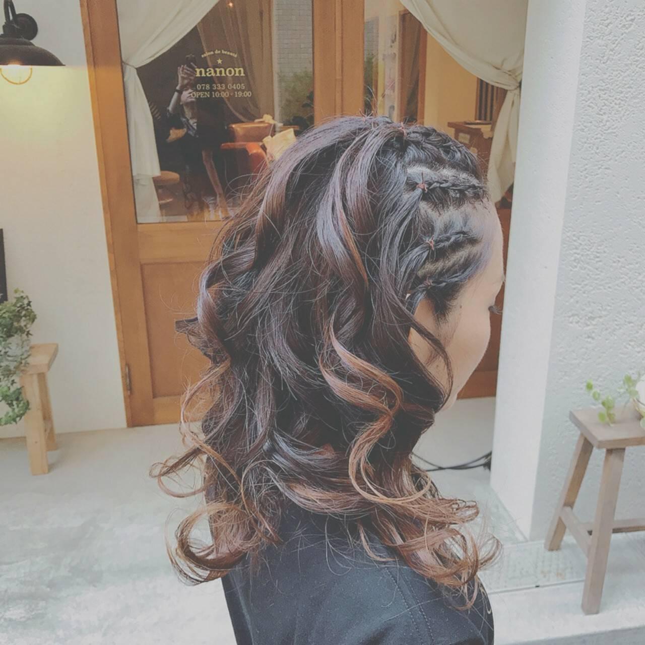 フェミニン ゆるふわ 大人かわいい デートヘアスタイルや髪型の写真・画像