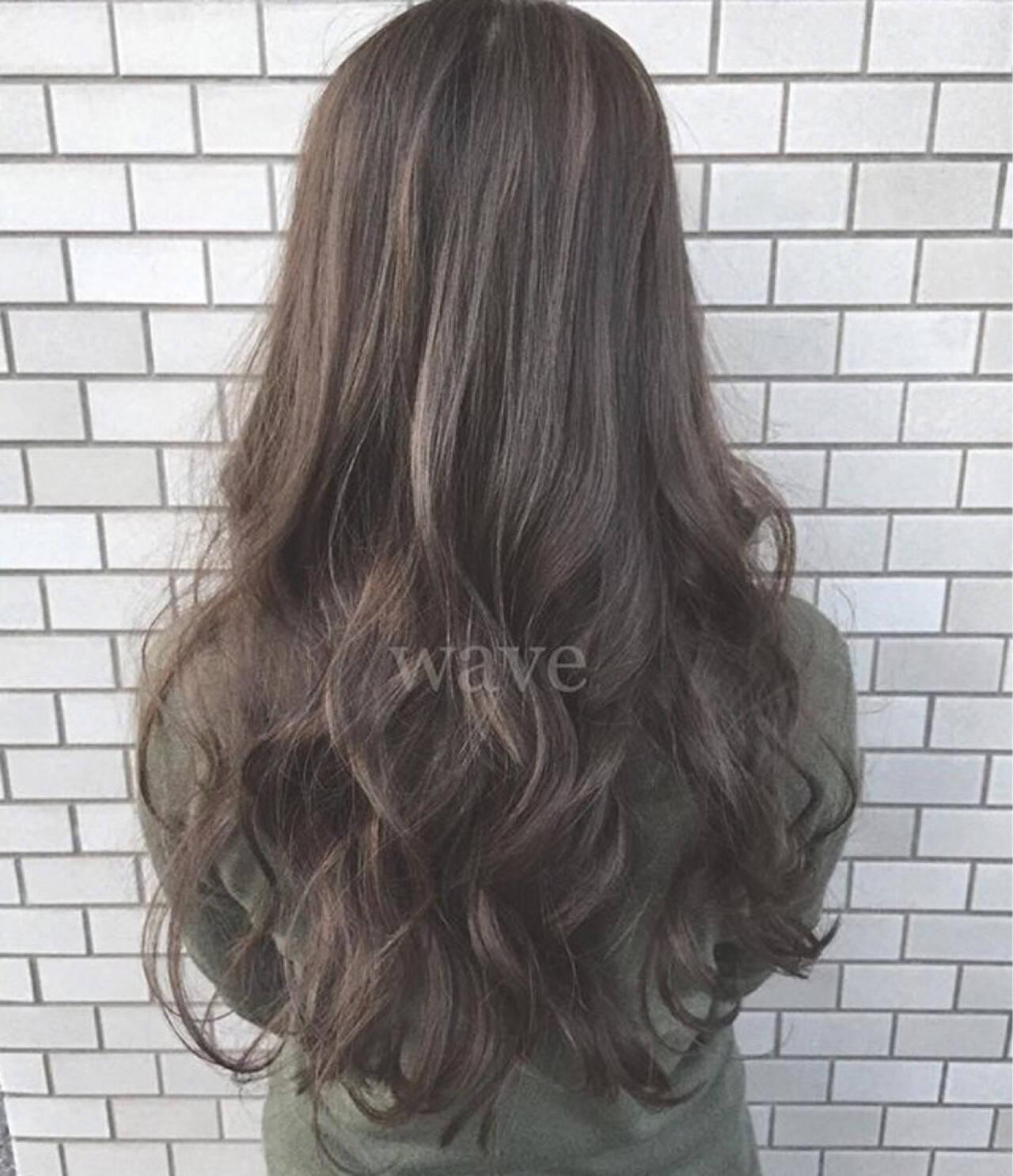 ロング ストリート モテ髪 大人かわいいヘアスタイルや髪型の写真・画像
