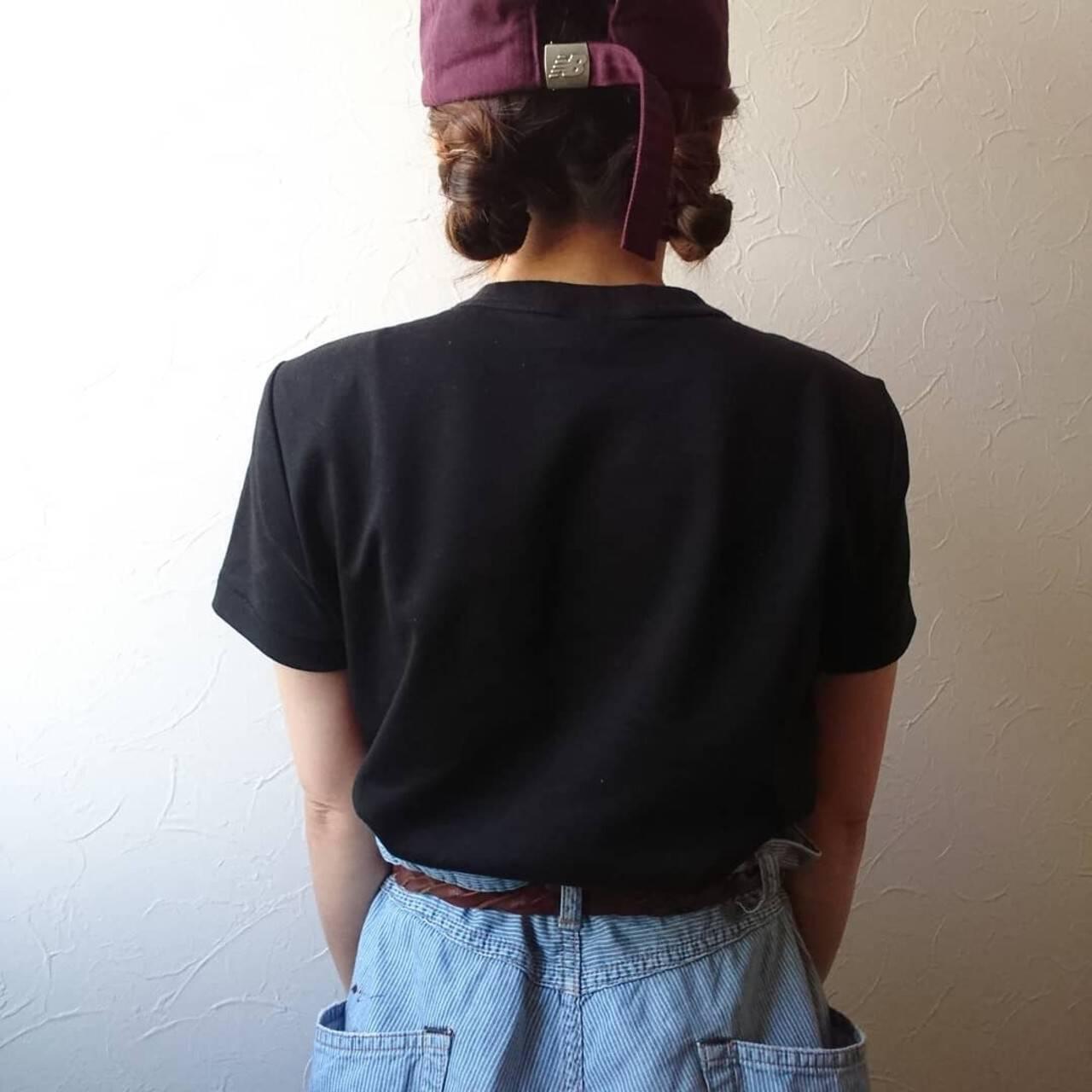 ストリート ヘアアレンジ ミディアム 簡単ヘアアレンジヘアスタイルや髪型の写真・画像