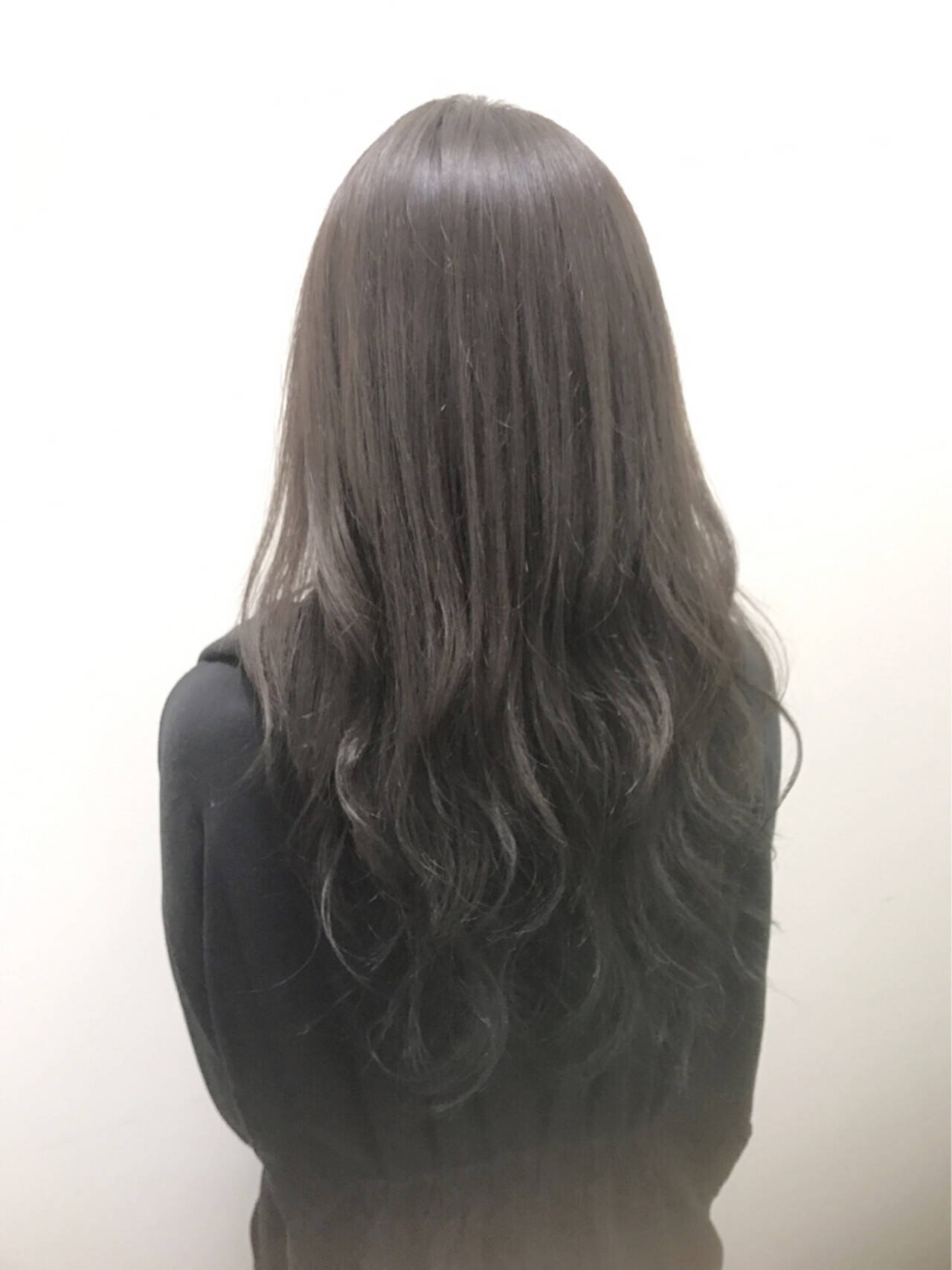 渋谷系 ネイビー 外国人風 暗髪ヘアスタイルや髪型の写真・画像