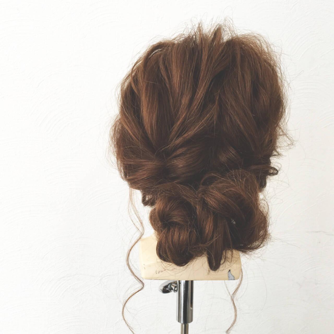 ショート 大人女子 簡単ヘアアレンジ ヘアアレンジヘアスタイルや髪型の写真・画像