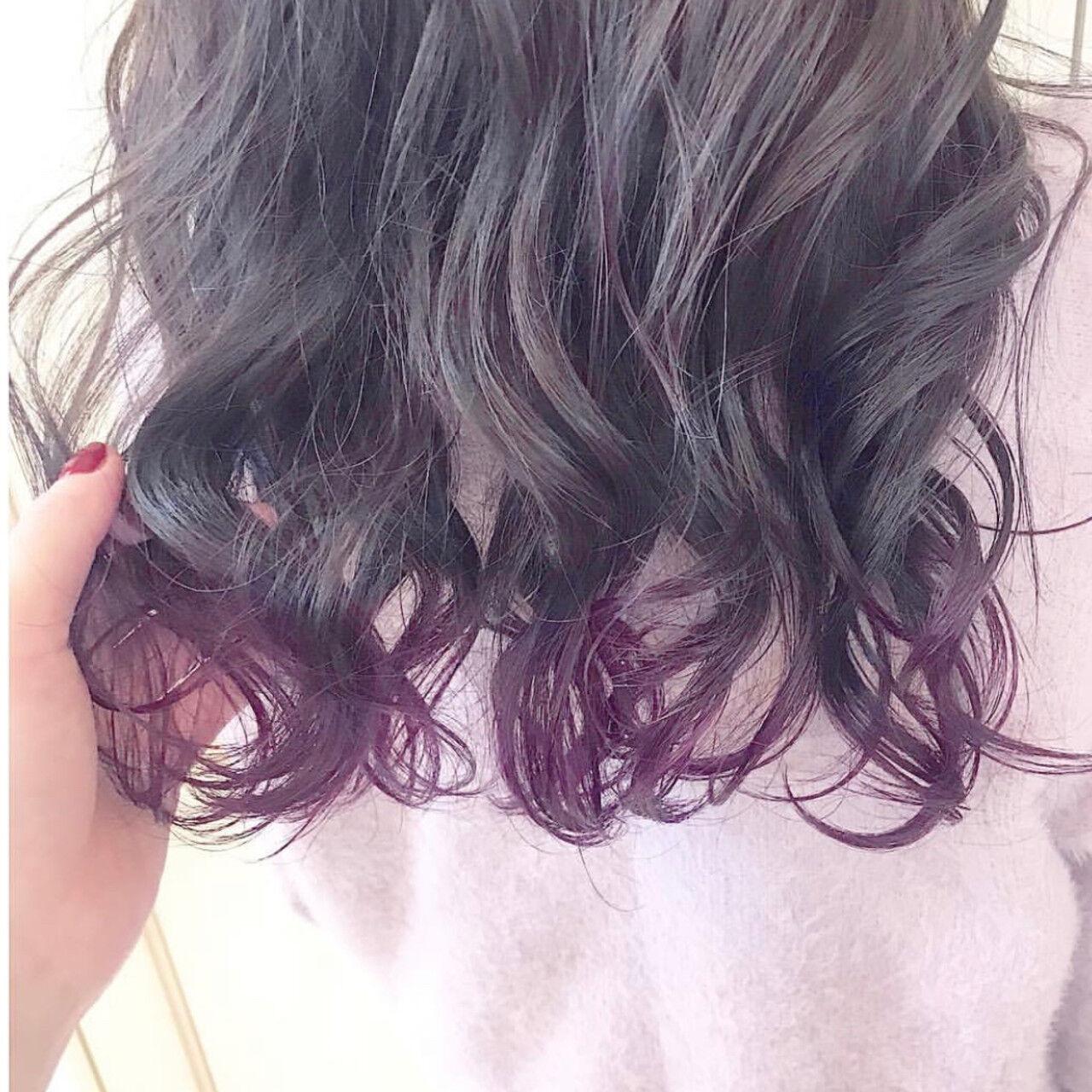 セミロング デート ベージュ モテ髪ヘアスタイルや髪型の写真・画像