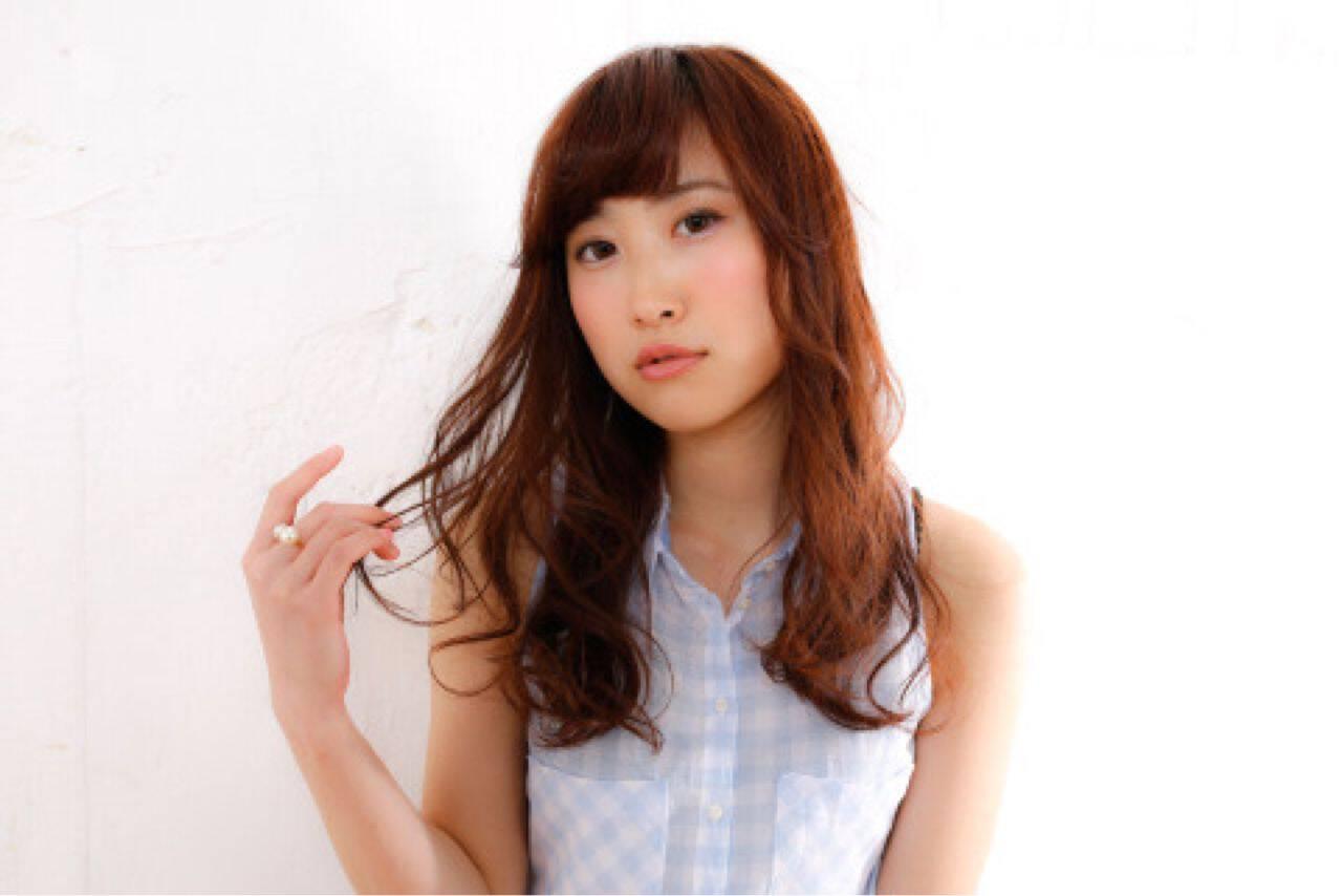 モテ髪 コンサバ 大人かわいい セミロングヘアスタイルや髪型の写真・画像