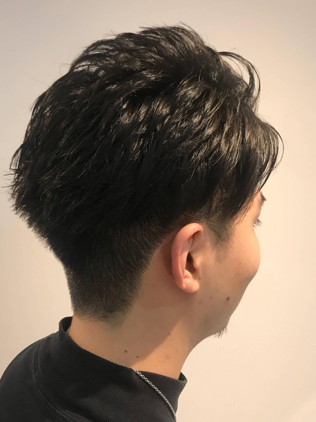 ストリート メンズ メンズカット 刈り上げヘアスタイルや髪型の写真・画像