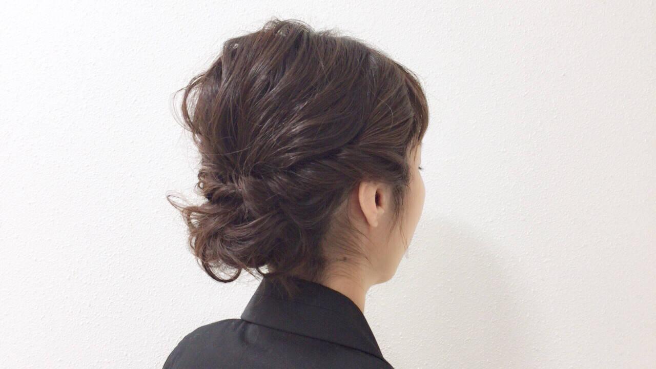 ナチュラル ミディアム アッシュベージュ 成人式ヘアスタイルや髪型の写真・画像