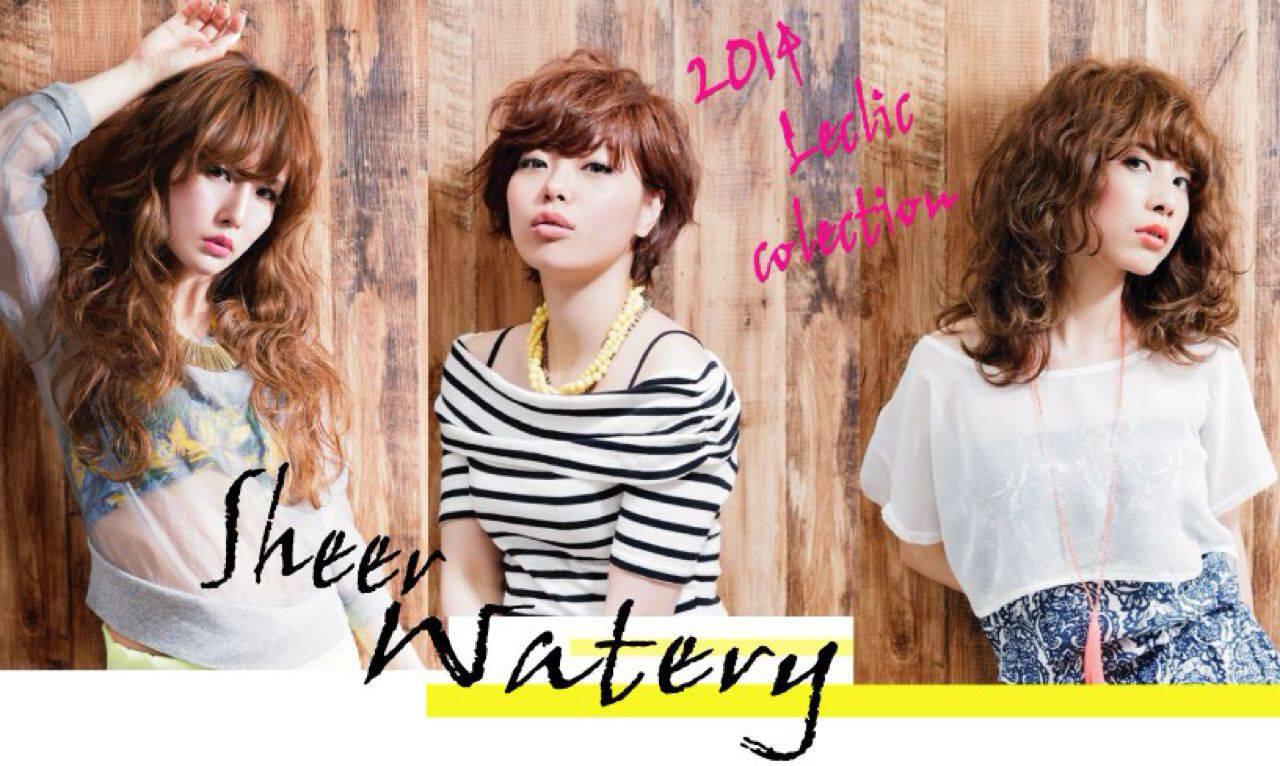 ストレート ゆるふわ ロング ナチュラルヘアスタイルや髪型の写真・画像
