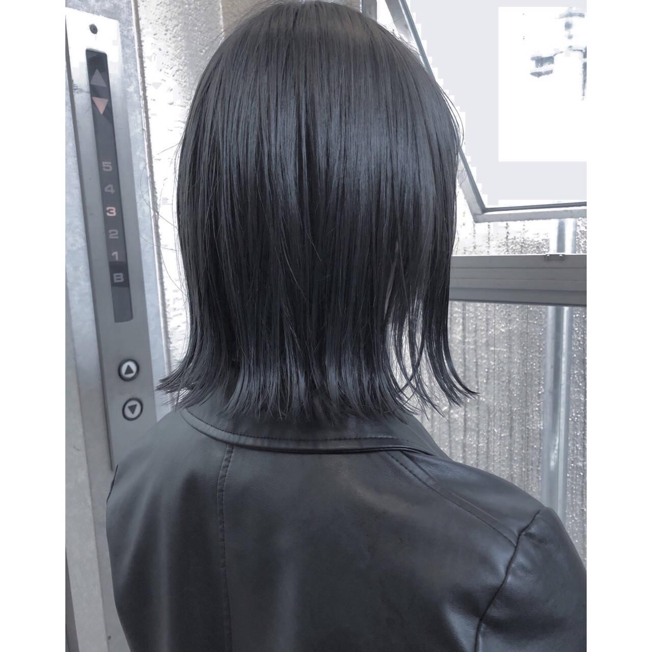 ハイライト 透明感 外国人風 ナチュラルヘアスタイルや髪型の写真・画像