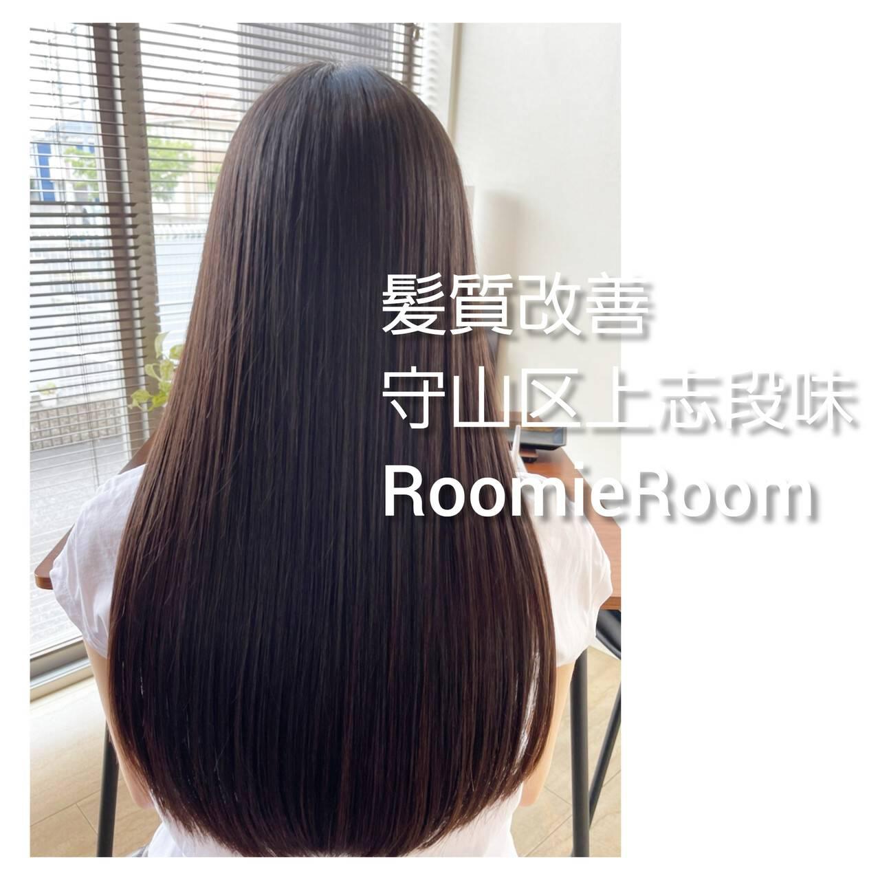 名古屋市守山区 髪の病院 ロング トリートメントヘアスタイルや髪型の写真・画像