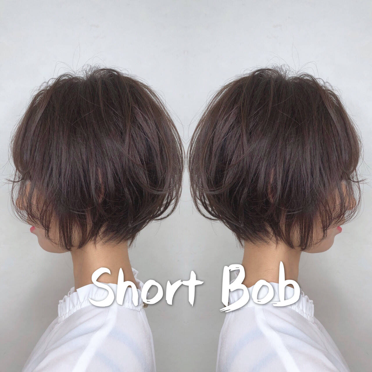 ハンサムショート ショートボブ デート ショートヘアスタイルや髪型の写真・画像