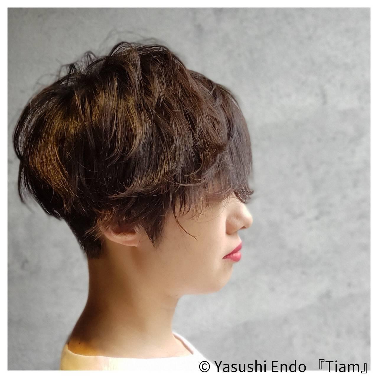 大人ヘアスタイル ナチュラル可愛い 刈り上げ女子 モードヘアスタイルや髪型の写真・画像