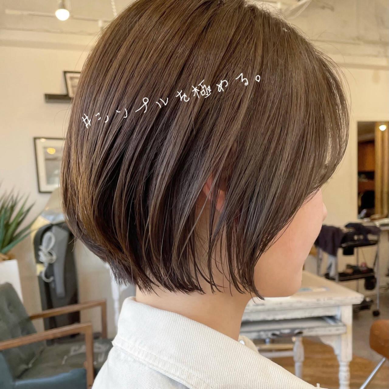 ショートヘア ベリーショート ショートボブ ショートヘアスタイルや髪型の写真・画像