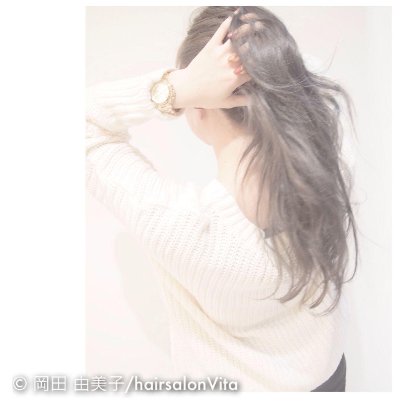 ストリート 黒髪 秋 外国人風カラーヘアスタイルや髪型の写真・画像