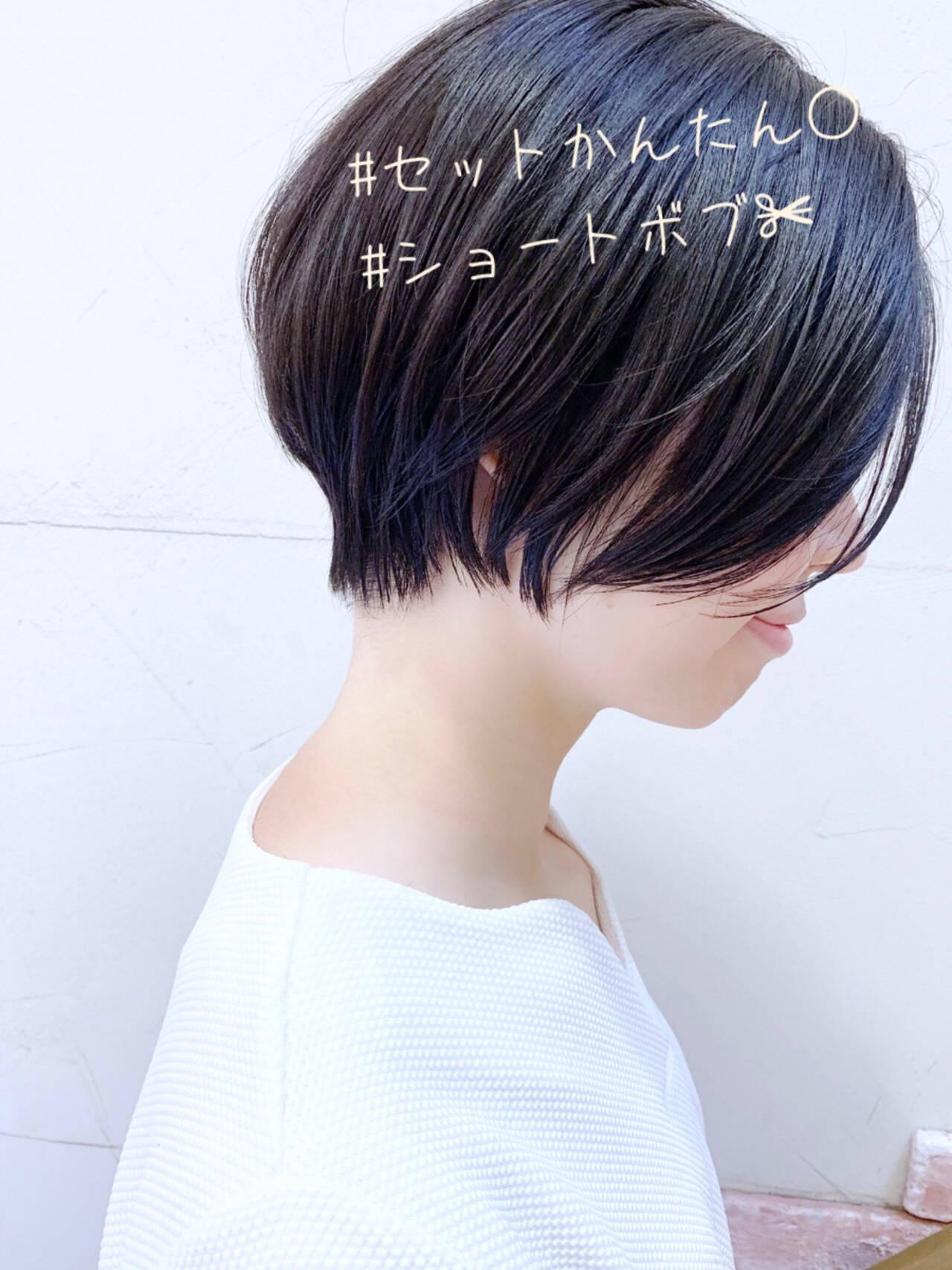 ナチュラル 簡単スタイリング 黒髪 大人かわいいヘアスタイルや髪型の写真・画像