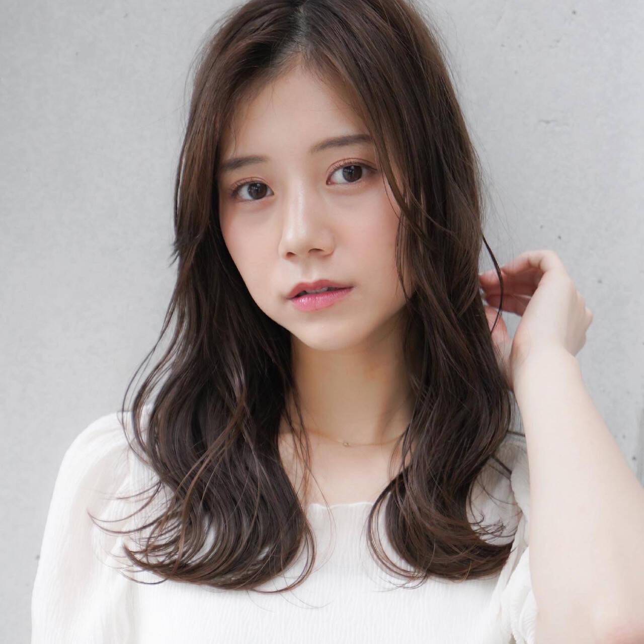 前髪 似合わせカット ひし形シルエット 髪質改善トリートメントヘアスタイルや髪型の写真・画像