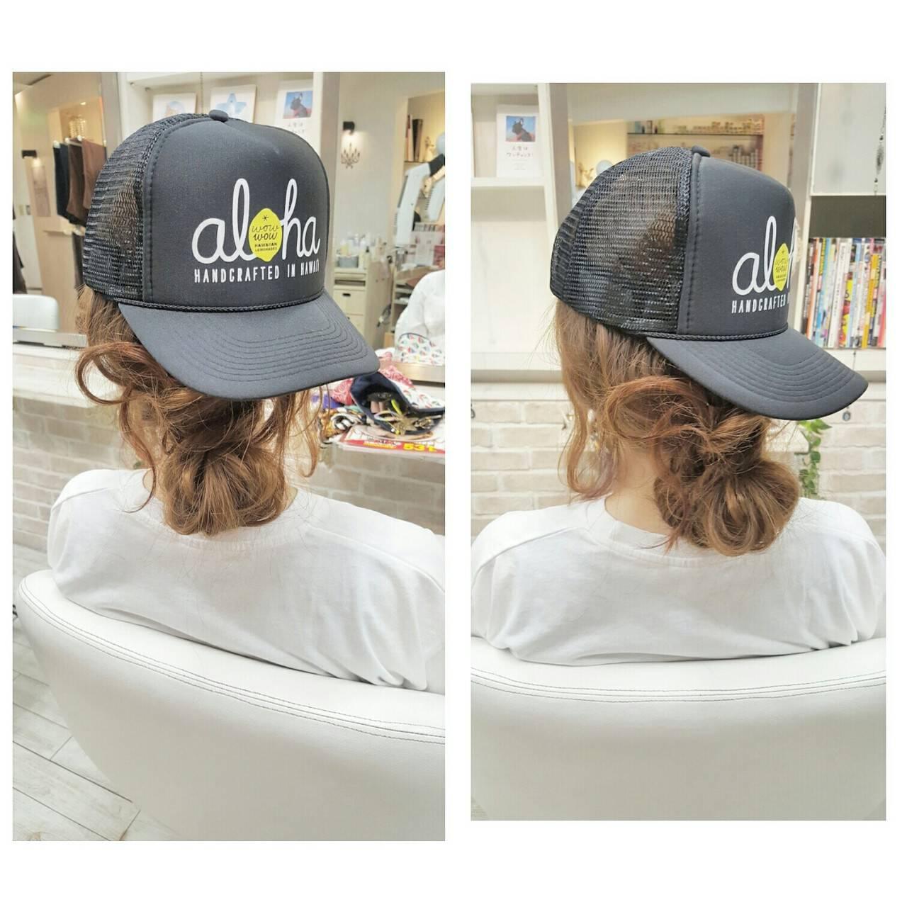 ゆるふわ ヘアアレンジ ロング ストリートヘアスタイルや髪型の写真・画像
