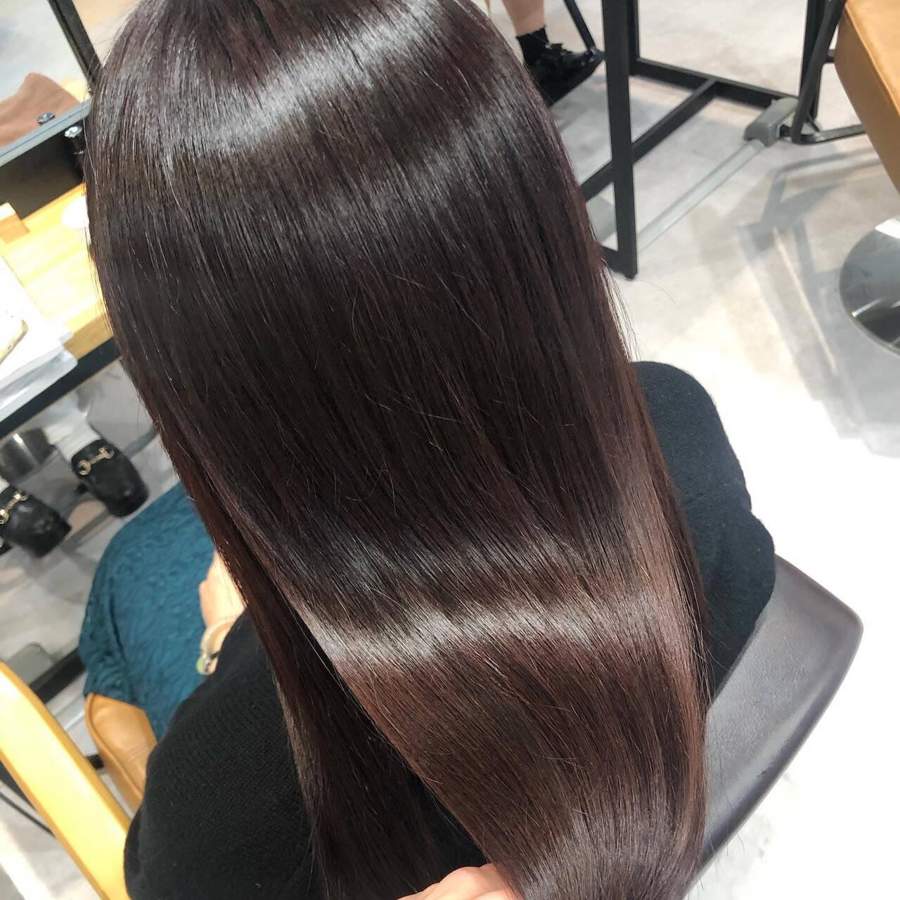 サイエンスアクア ナチュラル oggiotto ロングヘアスタイルや髪型の写真・画像