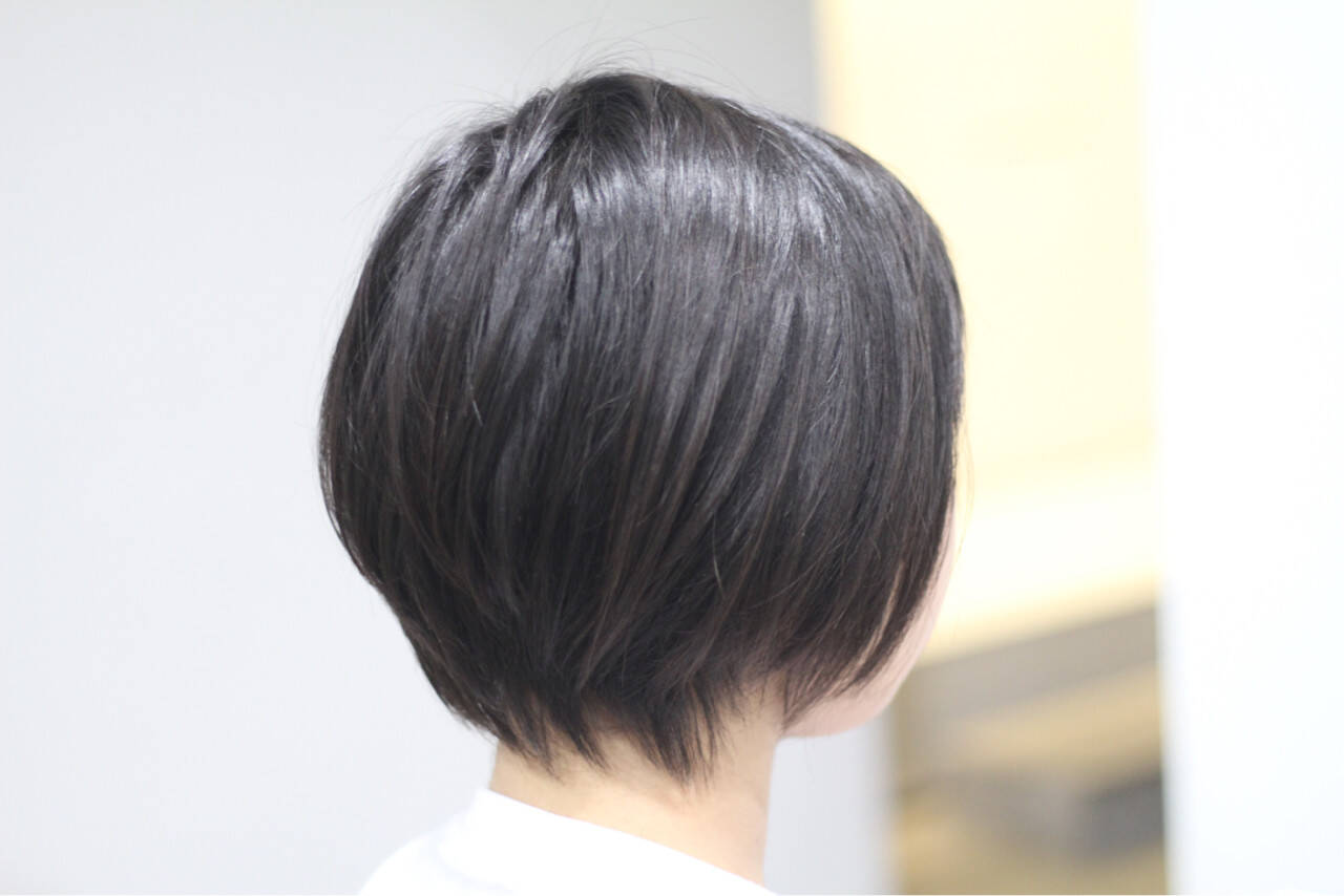 オフィス ナチュラル デート ボブヘアスタイルや髪型の写真・画像