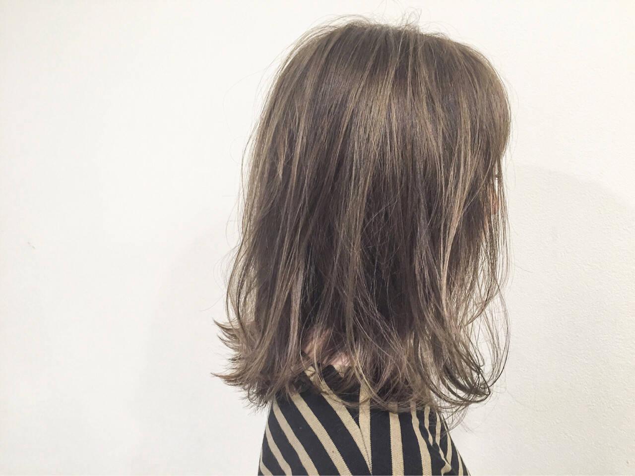 マルサラ ストリート ボブ ウェットヘアヘアスタイルや髪型の写真・画像