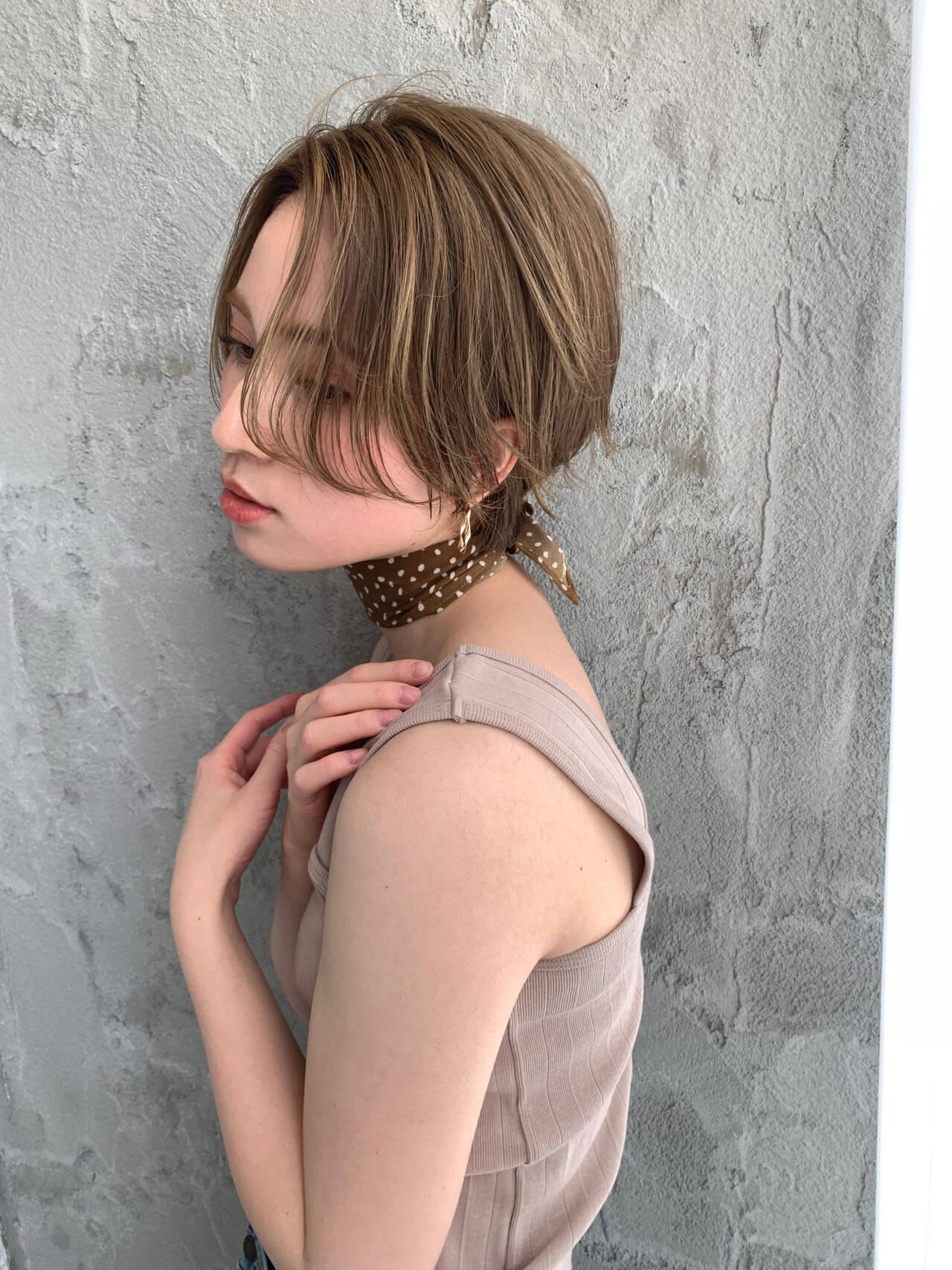 ハイトーン ショートヘア ベリーショート ショートヘアスタイルや髪型の写真・画像