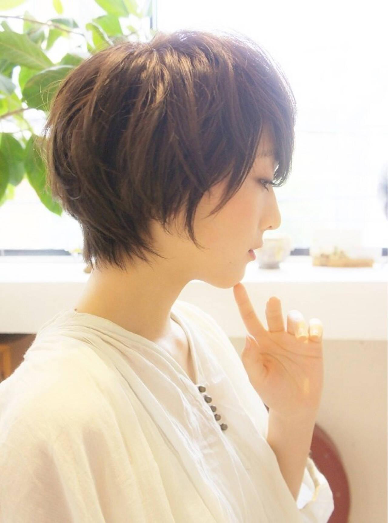 透明感 抜け感 黒髪 コンサバヘアスタイルや髪型の写真・画像