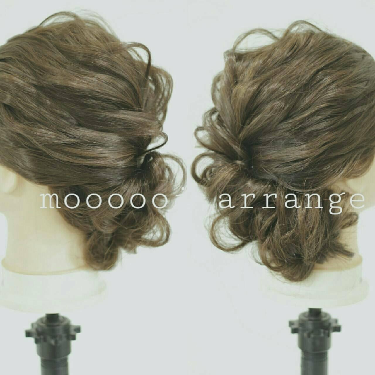 ショート ゆるふわ 大人かわいい ヘアアレンジヘアスタイルや髪型の写真・画像