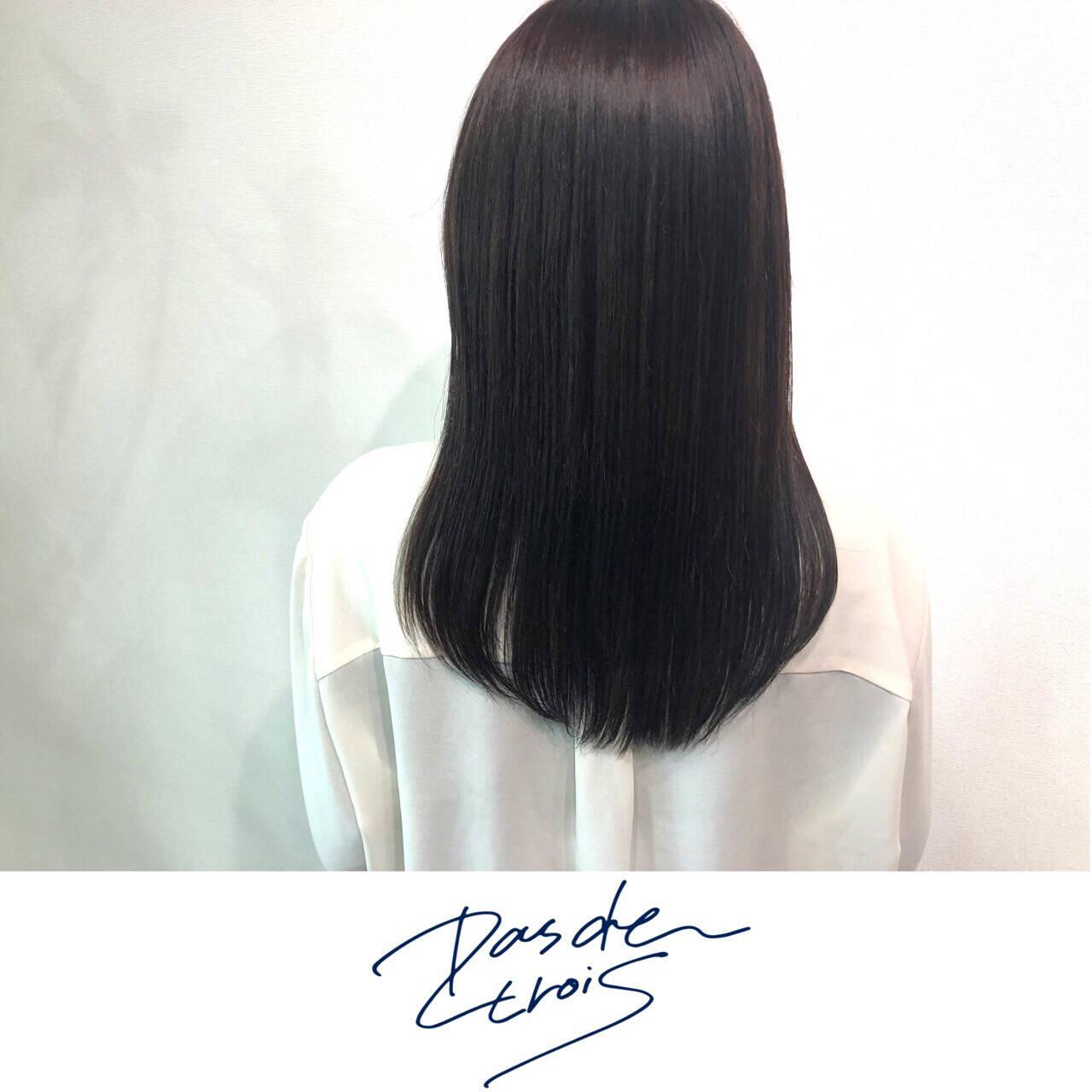 美髪 美髪矯正 ナチュラル 髪質改善ヘアスタイルや髪型の写真・画像