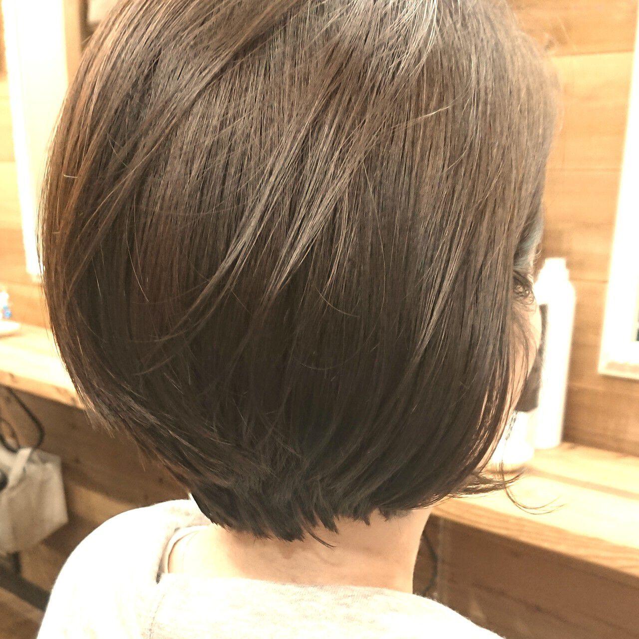 アッシュベージュ ハンサムショート 大人女子 大人ショートヘアスタイルや髪型の写真・画像