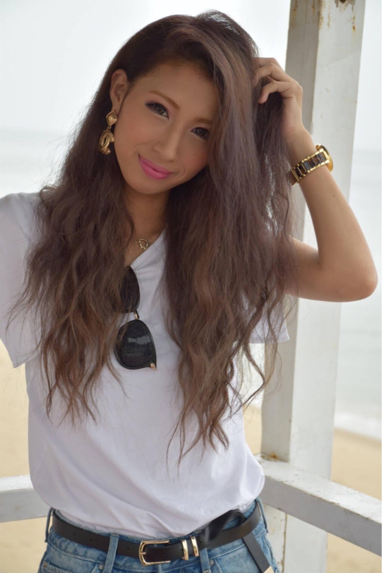 アッシュ 外国人風 ストリート マーメイドアッシュヘアスタイルや髪型の写真・画像