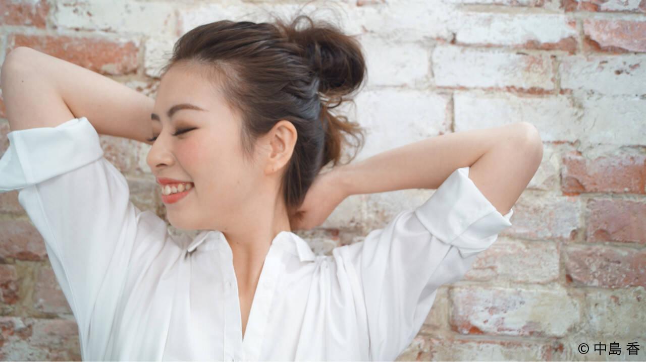 ヘアアレンジ ロング お団子 大人女子ヘアスタイルや髪型の写真・画像