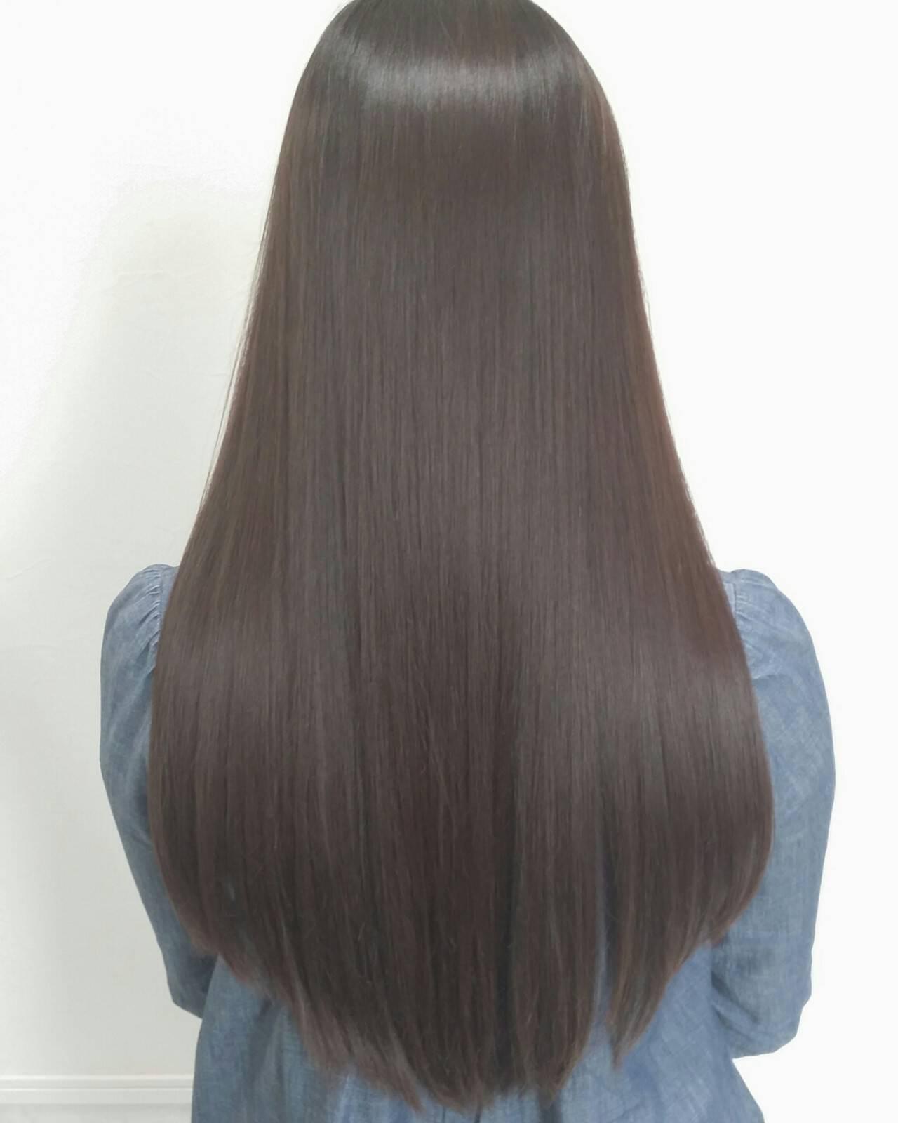 大人かわいい ロング コンサバ デートヘアスタイルや髪型の写真・画像