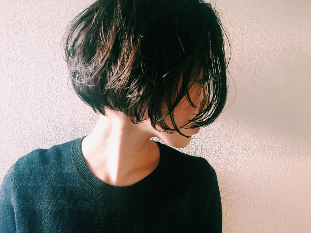 大人女子 色気 透明感 ニュアンスヘアスタイルや髪型の写真・画像