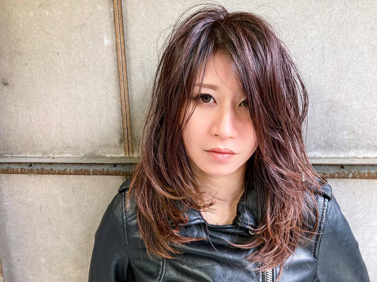 ロング レイヤースタイル レイヤーカット レイヤーロングヘアヘアスタイルや髪型の写真・画像