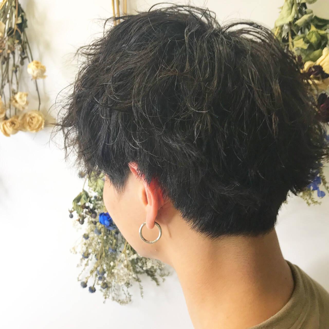 ストリート ツイスト メンズショート メンズカットヘアスタイルや髪型の写真・画像