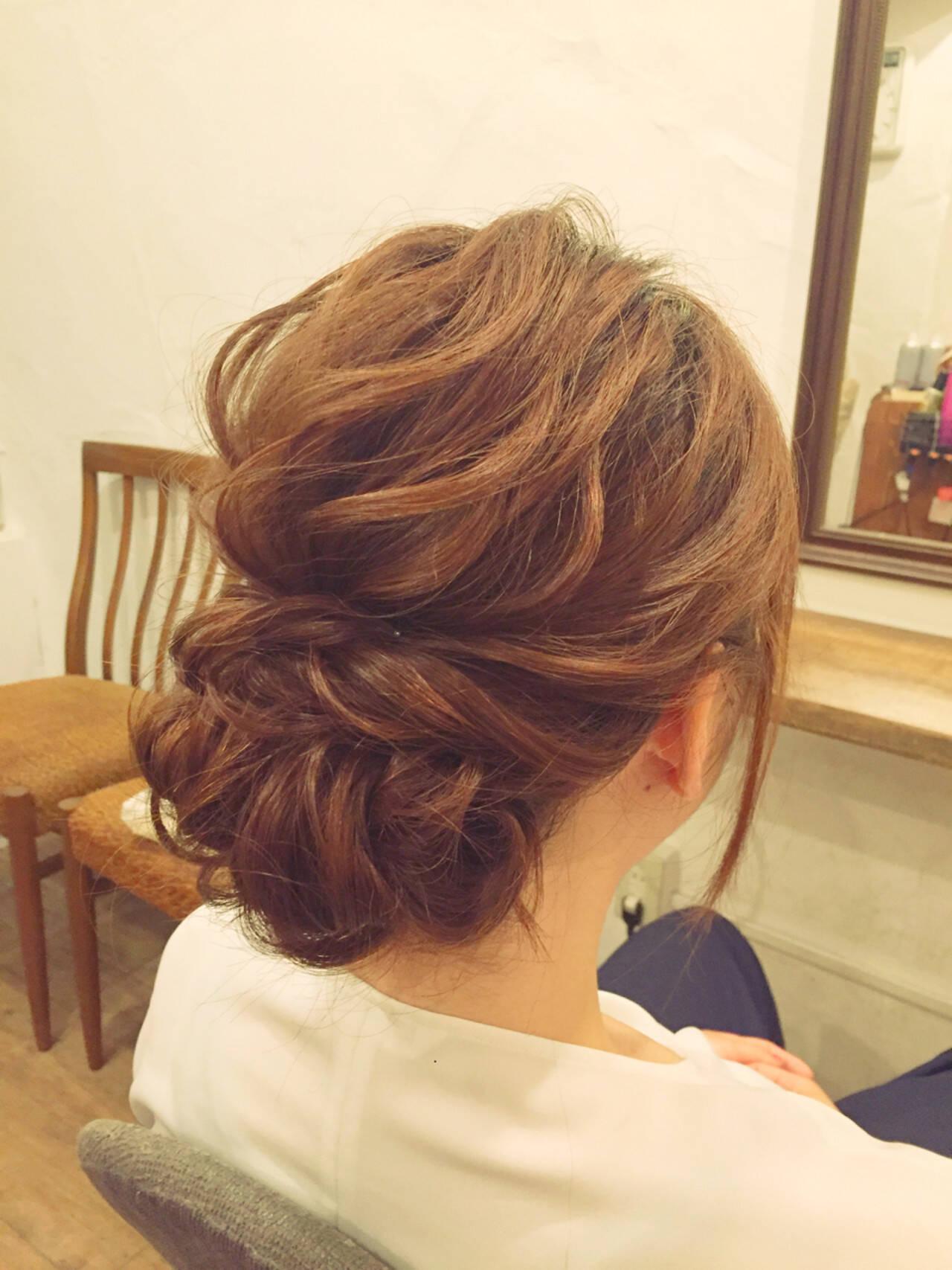 デート 雨の日 結婚式 ヘアアレンジヘアスタイルや髪型の写真・画像
