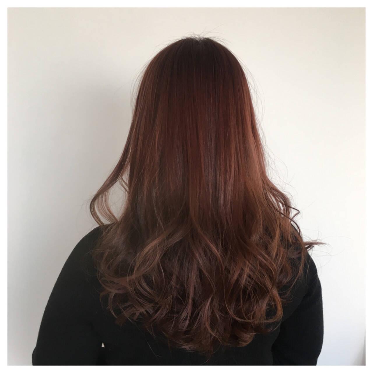 ラベンダーピンク ロング ラベンダー ピンクヘアスタイルや髪型の写真・画像