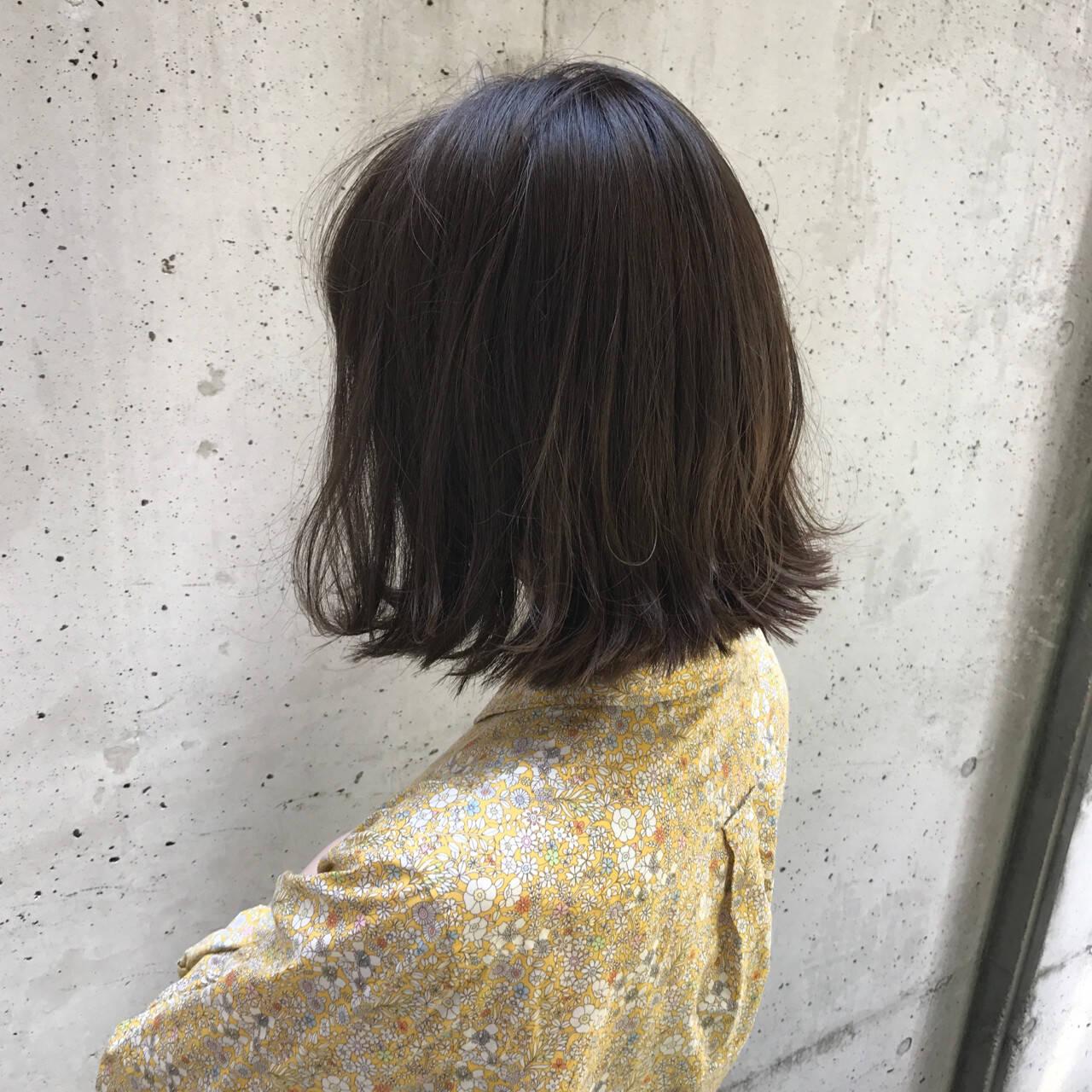 モード ブルージュ ボブ 外国人風カラーヘアスタイルや髪型の写真・画像