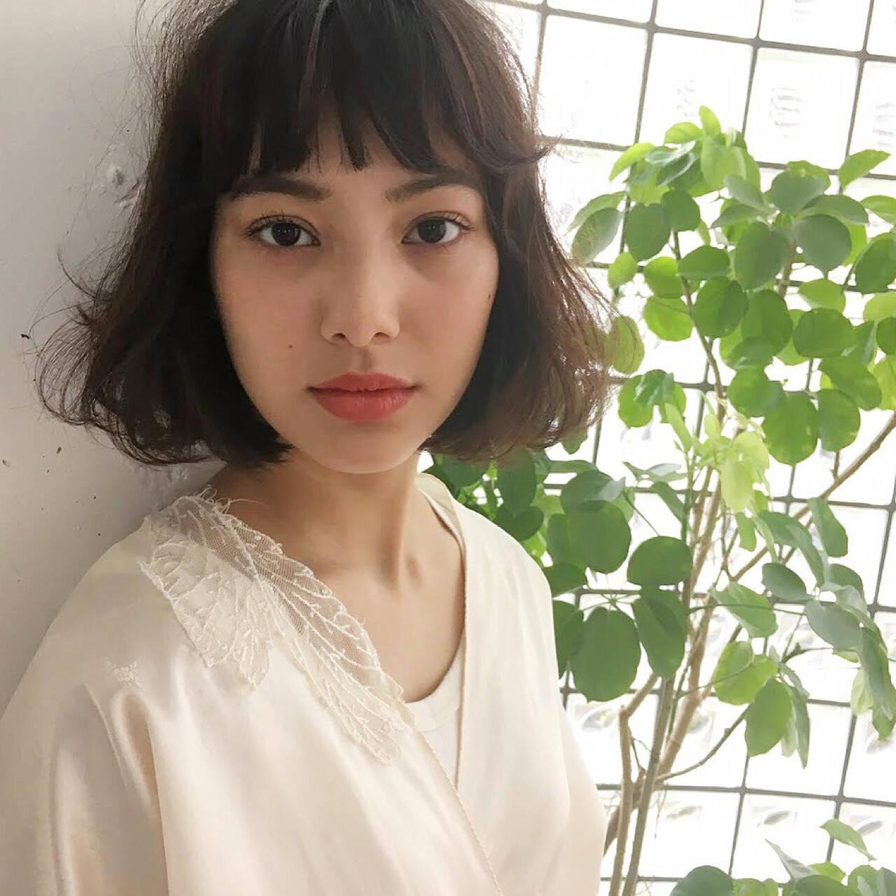 外国人風 色気 パーマ ナチュラルヘアスタイルや髪型の写真・画像