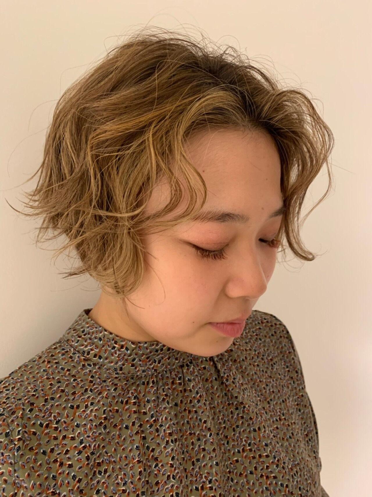 簡単ヘアアレンジ デート ヘアアレンジ ショートヘアスタイルや髪型の写真・画像