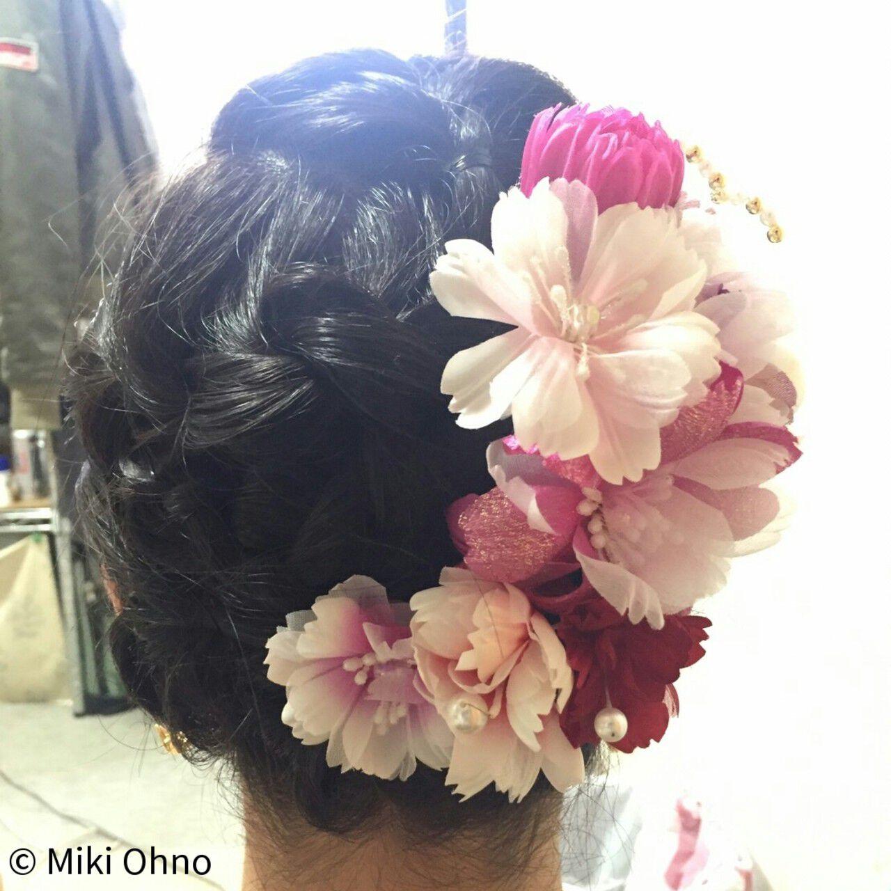 夏 お祭り ヘアアレンジ 花火大会ヘアスタイルや髪型の写真・画像