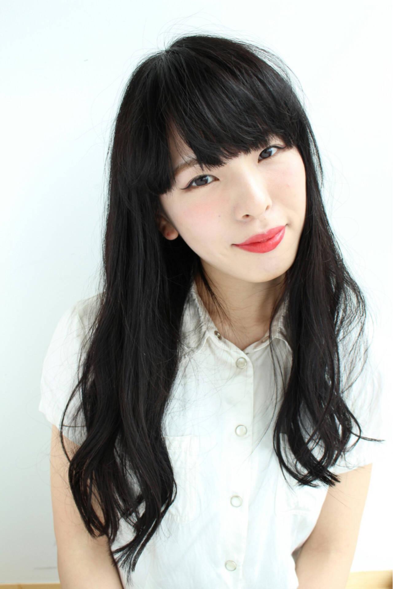 ナチュラル 艶髪 ゆるふわ 大人かわいいヘアスタイルや髪型の写真・画像