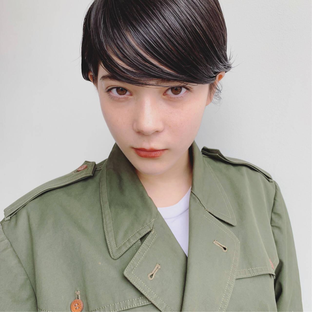 ハイトーン 外国人風 暗髪 大人かわいいヘアスタイルや髪型の写真・画像