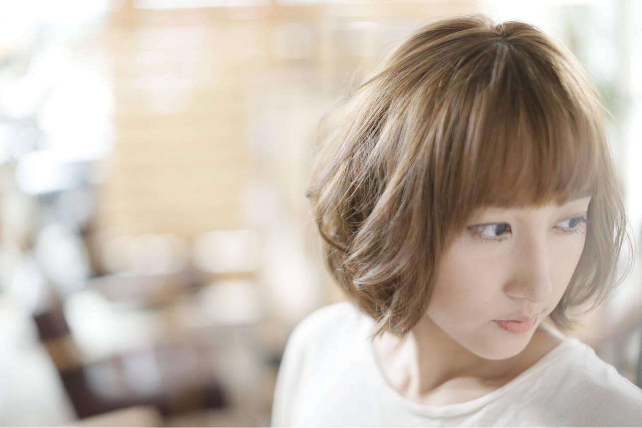 前髪あり 大人かわいい ナチュラル 大人女子ヘアスタイルや髪型の写真・画像